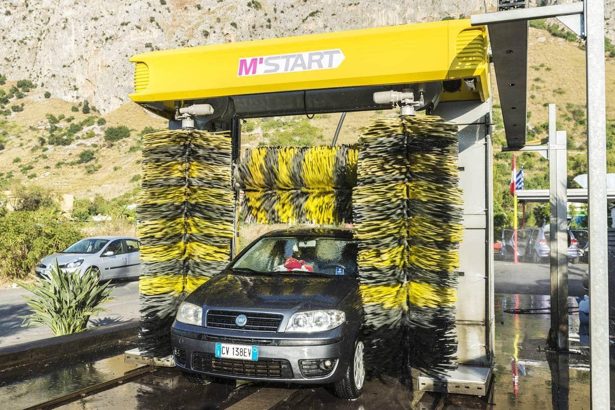 stations de lavage produits